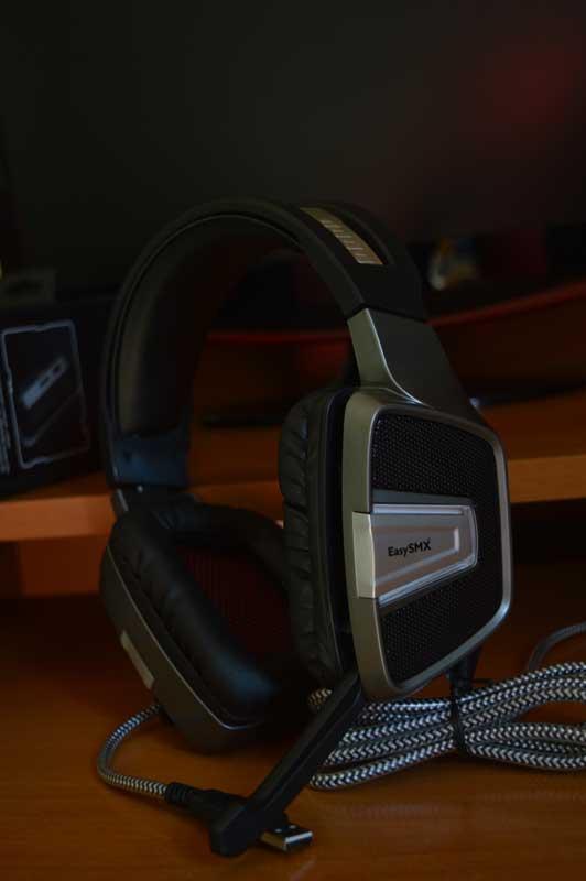 cuffie da gaming per pc ps4 xbox EasySMX modello ESM-G291