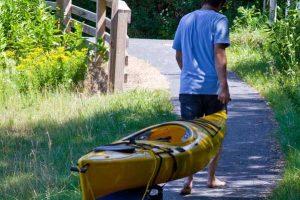 carrello per canoa