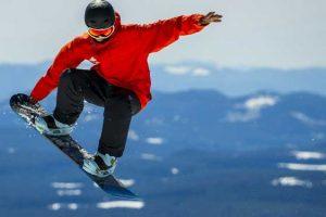 giacca da snowboard per sport invernali