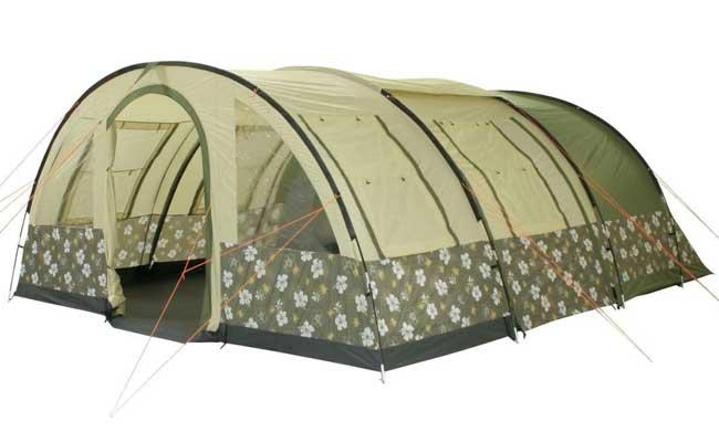 tenda da campeggio a tunnel