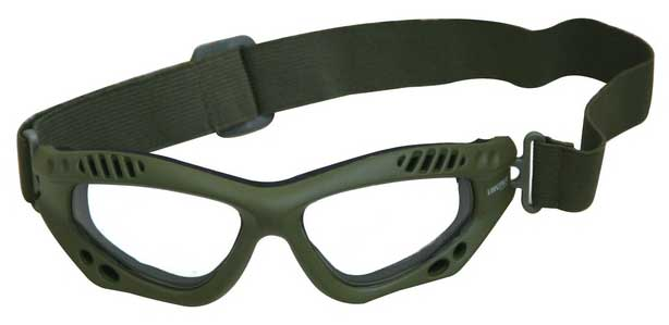 occhiali tattici per il softair