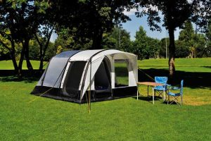tenda da campeggio a casa