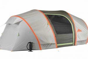 tenda da campeggio pneumatica