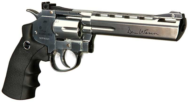 pistola revolver da softair
