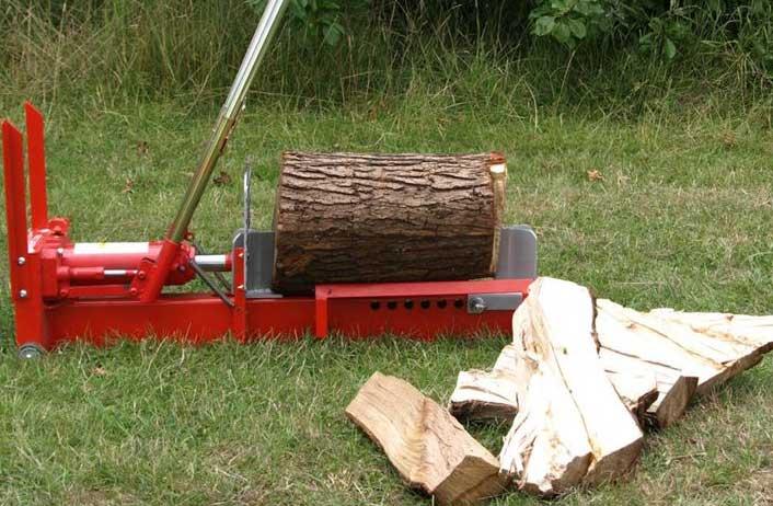 Spacca legna a mano orizzontale