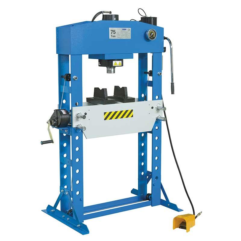 I migliori modelli di pressa idraulica caratteristiche for Pressa usata per officina