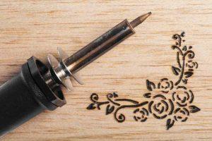pirografo per cuoio sughero legno