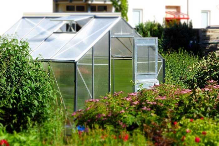 serra per giardino multifunzione