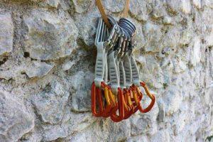 Rinvii da arrampicata professionali