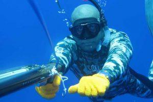 Guanti per pesca subacquea