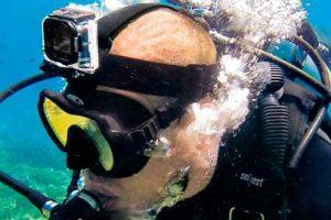 Action Cam subacquea da pesca sub e immersioni