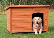 Cuccia da esterno per cani di taglia grande