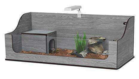 Terrario per tartarughe terrestri modelli in vetro e in for Terrario per tartarughe acquatiche