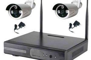 Kit di videosorveglianza senza fili