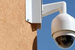 Vidvideocamera di videosorveglianza
