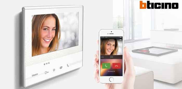 Videocitofono digitale BTicino