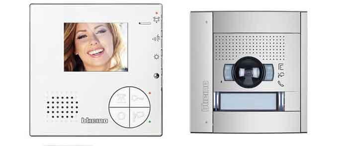 Videocitofono resistente BTicino