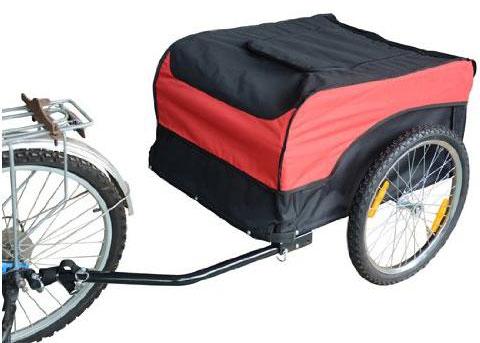 Carrello rimorchio per bici