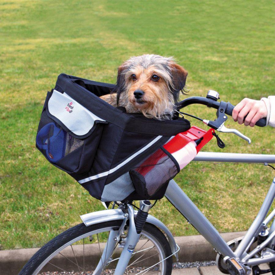 Cesta per cani da bicicletta