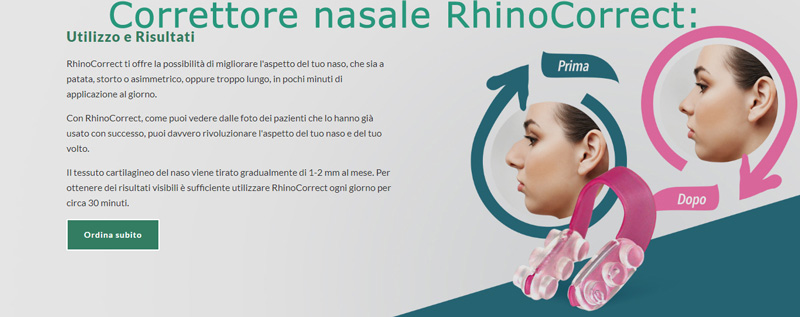 Rhino Correct per le gobbe del naso