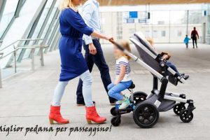 Pedana universale per passeggino