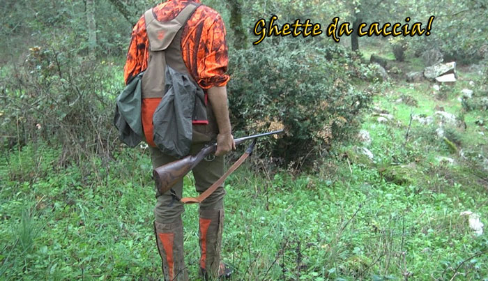 Ghette mimetiche da caccia e escursionismo