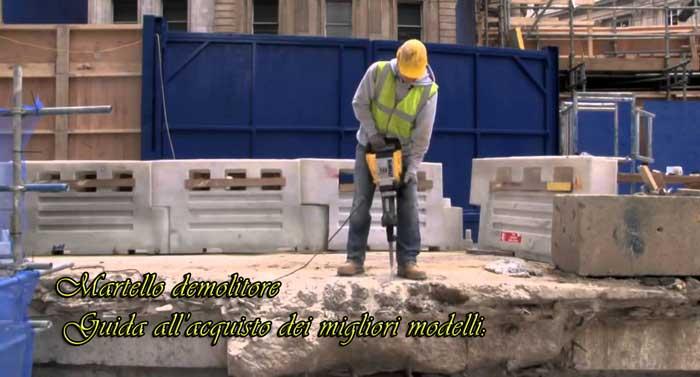 Martello demolitore professionale