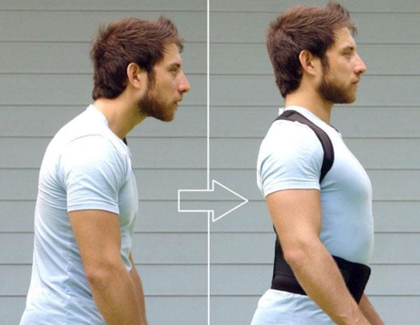 Fascia per addrizzare le spalle effetti positivi