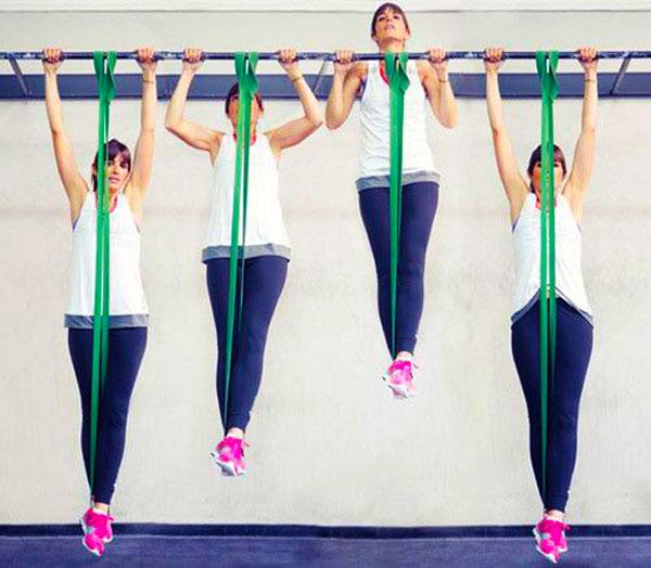 Elastici per trazioni e allenamento funzionale
