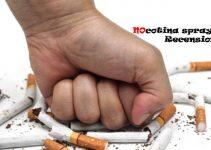 Recensione spray per smettere di fumare Nocotina