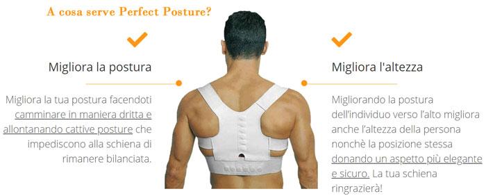 Funzionamento di Perfect Posture