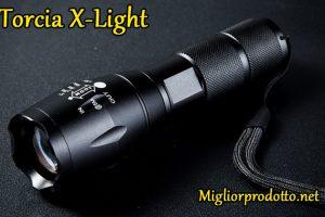 Recensione della torcia militare X Light
