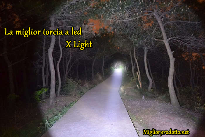 Torcia tattica X Light
