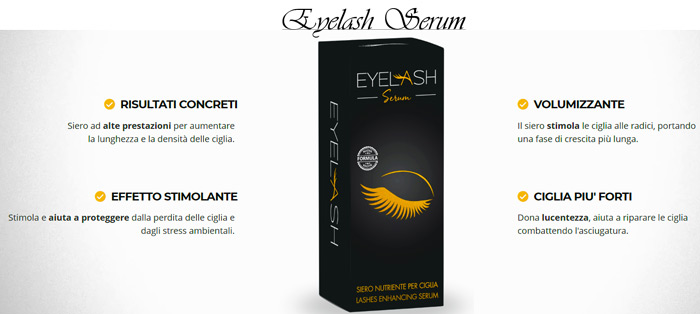 Siero per ciglia Eyelash Serum