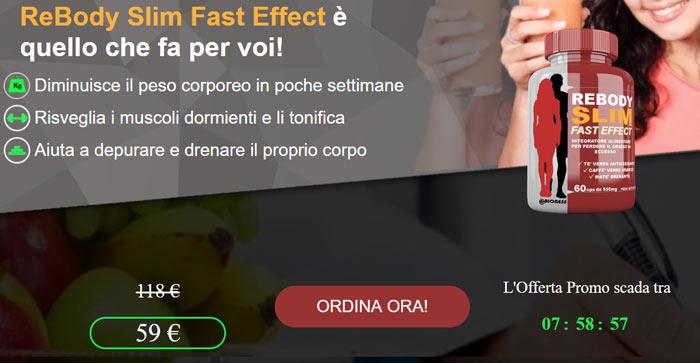 Prezzo di Rebody Slim Fast Effect
