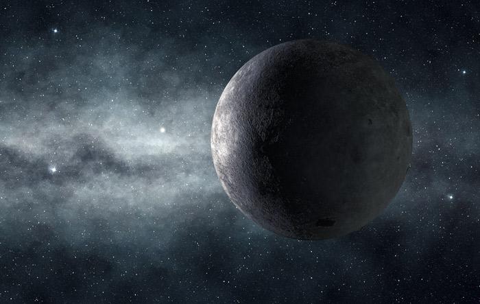 Immagine al telescopio astronomico