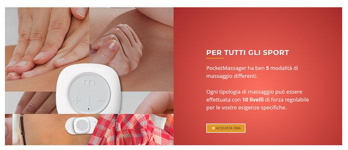 Massaggiatore portatile Pocket Massager