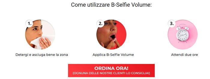 Applicazione Bselfie Volume