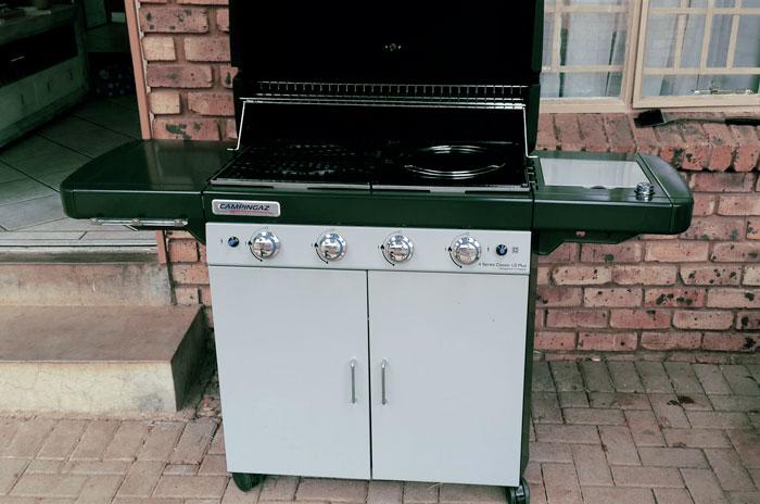 Barbecue Campigaz Classic lS
