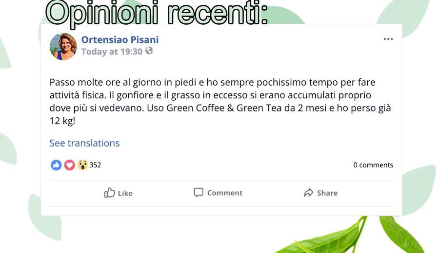 Opinioni di Green Coffee e Green Tea Plus