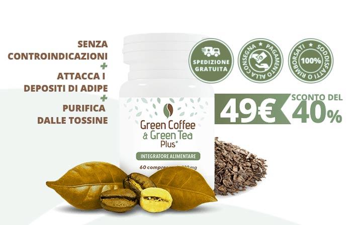 Green Coffee e Green Tea Plus prezzo