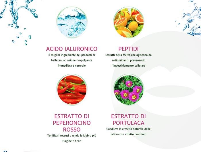 Ingredienti su Natulips gonfia labbra