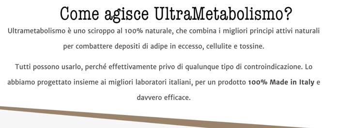 Come funziona ultrametabolismo