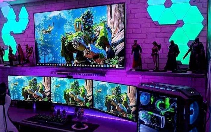 Monitor da gioco per play station o xbox