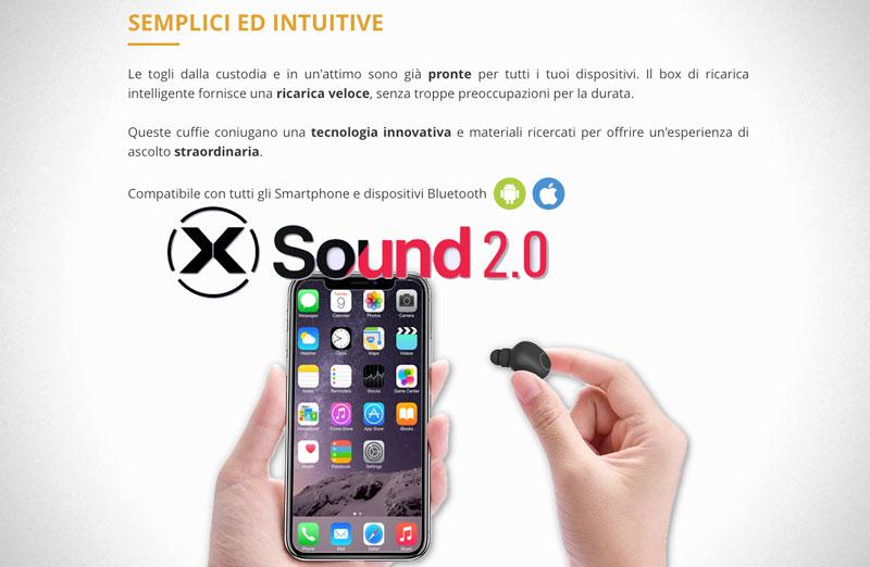 Recensione delle cuffie X Sound 2.0