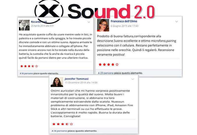 Opinioni e pareri delle cuffie X Sound 2.0