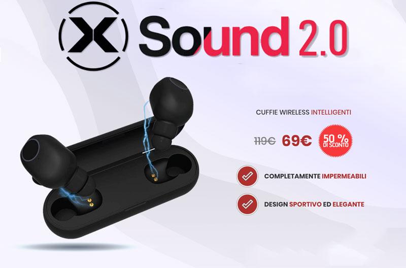 Prezzo delle cuffie X Sound 2.0