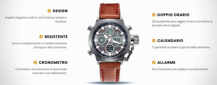 Caratteristiche dell orologio x technical watch