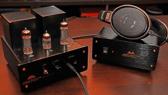 Amplificatore valvolare per cuffie