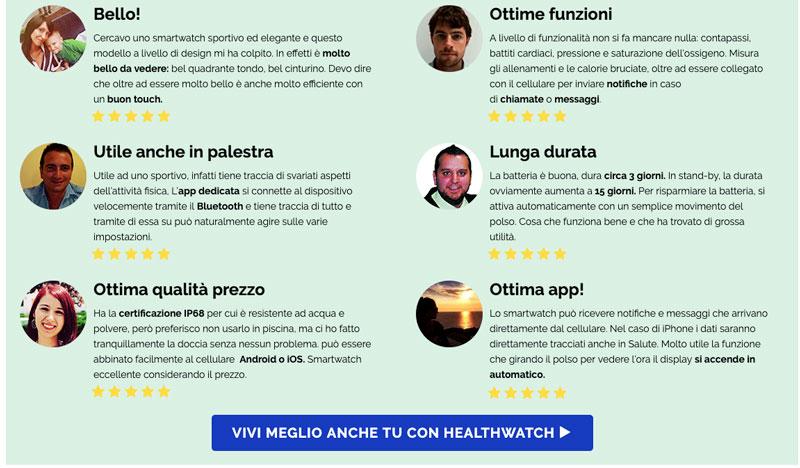 Opinioni dei forum su HealthWatch